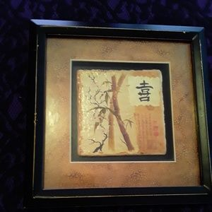 Chinese framed art